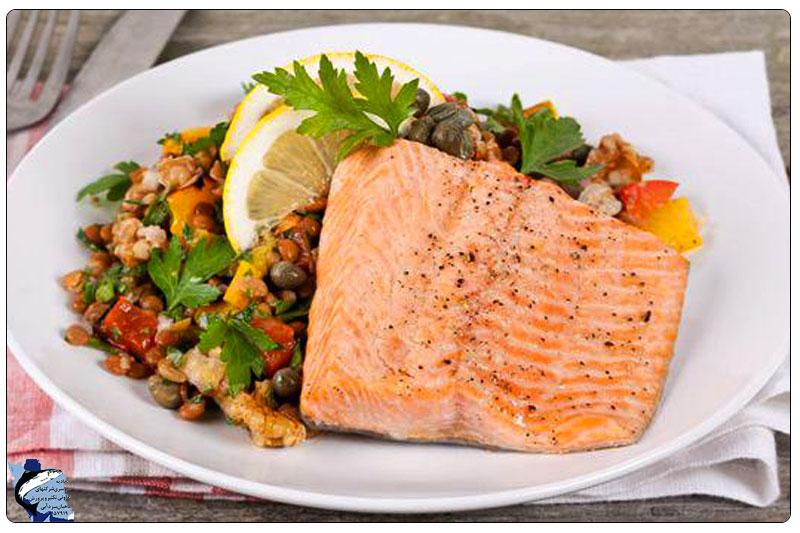 ماهی قزل آلا شماره 2